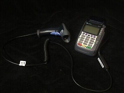 Verifone Omni 5700 Vx570 Credit Debit Card Terminal Reader Swipe Barcode Reader