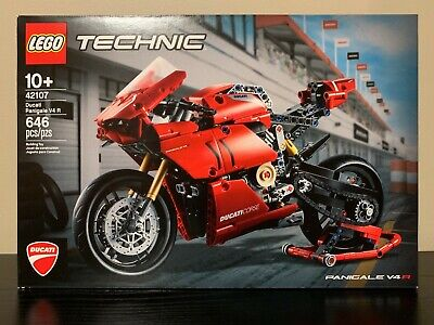 LEGO 42107 Technic Ducati Panigale V4 R Motorcycle - NEW & SEALED