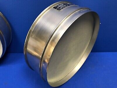 Humboldt No. 60 Usa Standard Testing Sieve Stainless Steel 12dia X 3-14deep