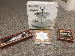 Christmas serving ware set - brand new