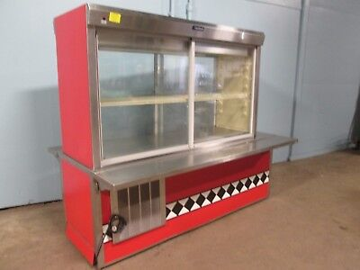 Delfield Commercial H.d. Nsf Lighted Refrigerated Piepastry Display Cooler