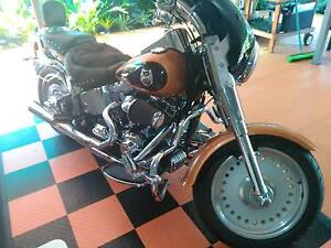 2008 ANNIVERSARY COPPER AND BLACK FATBOY Redlynch Cairns City Preview