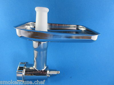 THE BEST*** STAINLESS STEEL Meat Grinder Food Chopper for Kitchenaid Stand (Best Kitchenaid Stand Mixer)