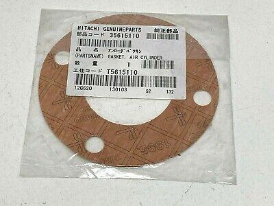 Hitachi Genuine Oem Compressor Part 35615110 Air Cylinder Gasket T5615110