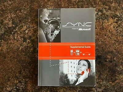 2009 Ford SYNC Owners Manual Supplement - Flex 2009 Sync