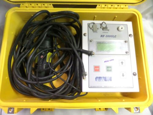 ORION RF-3000LE Rionfuser Chemical Piping Systems Electrofusion Machine