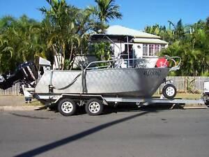 5.8M Custom Centre Console Plate boat