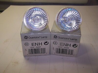2 New Ge General Electric Projector Bulb Protection Lamb Enh 120v 250w