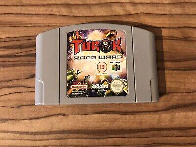 Turok Rage Wars - Nintendo 64 N64 Game Cart Cartridge PAL UK