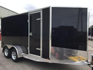2019 Canadian Trailer Company 7X14 V-Nose Cargo Trailer