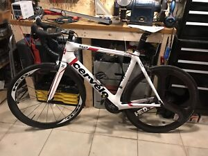 Cervelo S2 With HED carbon wheelset and SRAM RED components