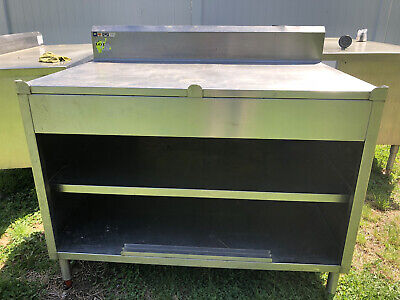 48 X 30 Stainless Steel Heavy Duty Work Table W Under Shelf Kitchen Cabinet