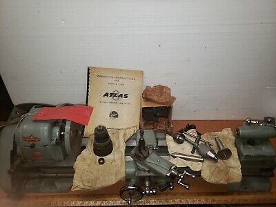 Atlas 6 Lathe 618 Ser025756 Unused Worig Tooling