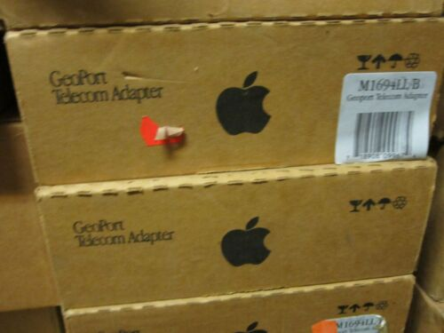 Vintage Apple Geoport Telecom Modem Adapter-NEW RARE m1684 NEW