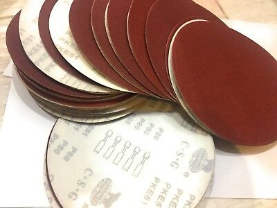 25pc Drywall Sanding Discs 9 80-grit Fits Porter Cable 7800 Hook Loop