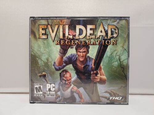 Computer Games - Evil Dead: Regeneration (PC, 2005) PC Vintage Computer Game THQ