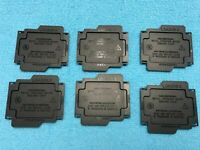 LOT 200 pcs FOXCONN  LGA2011-3   LGA2011-V3  CPU SOCKET COVER  ORIGINAL-BLACK