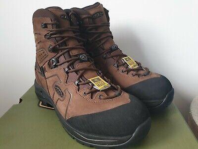 Keen Karraig Mid WP Hiking Walking Boots - Men's Size UK 8.5 (Eur 42.5)
