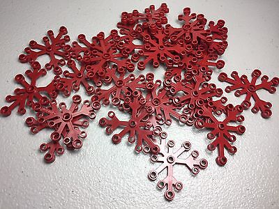NEW LEGO DARK RED 6X5 PLANTS BUSH TREE LEAVES AUTHENTIC 2417 LOT OF 25