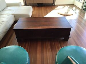 Coffee Table Solid Lombok Mango Wood North Ward Townsville City Preview