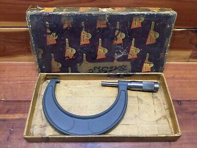 Vintage Brown Sharpe Micrometer No. 64 3-4 3 - 4