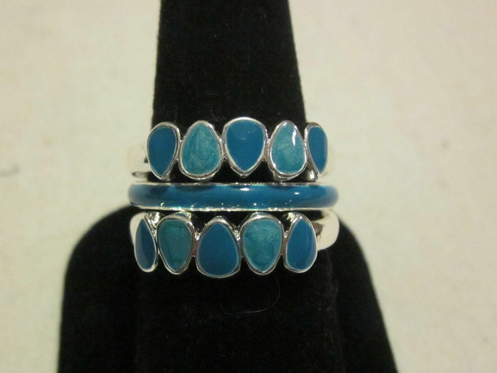 AVON Fragrant Garden Stackable Ring Set-Size 8