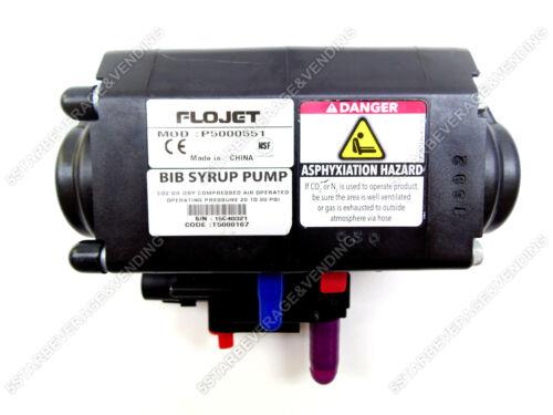 FLOJET P5000 / T5000 SYRUP BEVERAGE BAG IN BOX PUMP P5000-551 / T5000-192