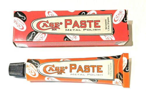 CASE XX CAP01 Metal Polish PASTE for knives and more 1.76 oz tube made in USA
