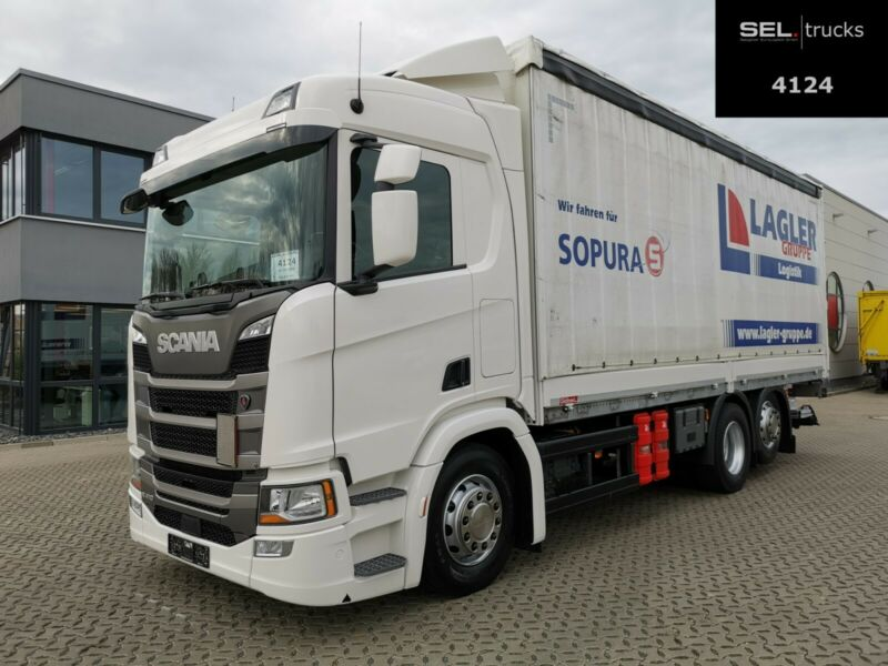 Scania R 410 / Retarder / Lenk-Liftachse / Ladebordwand
