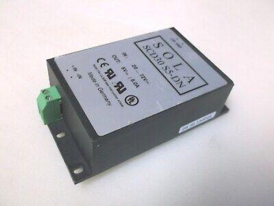 Sola Scd30 S5-dn Power Supply 5vdc 5 Amp