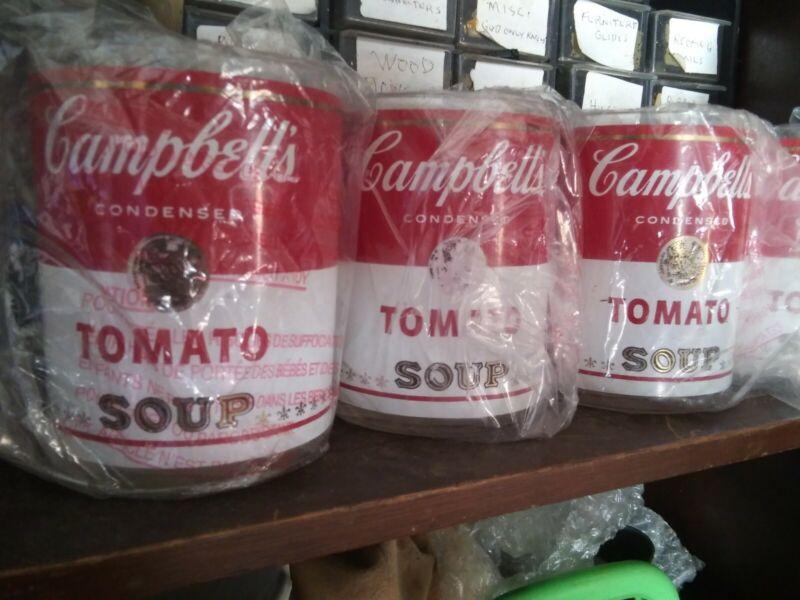 Vintage Campbell Soup glasses Set of 4