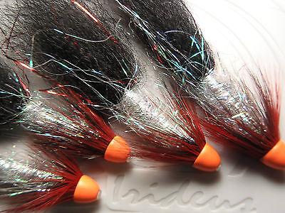Salmon Flies,3 X Zonker  Piglets Set On 20mm  Tubes