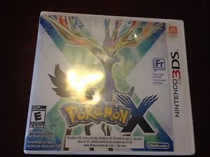 Pokémon X 3DS Very Good Condition
