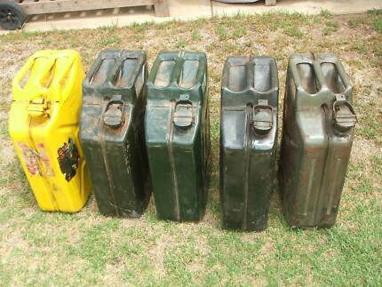 Jerry cans -
