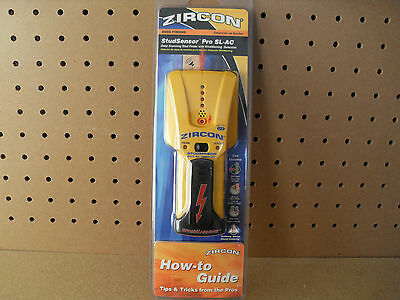Zircon StudSensor Pro SL-AC Stud Finder Live Wire Warning Detection