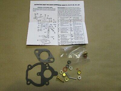 Carburetor Repair Kit Zenith For Farmall B C A Bn Super A 130 100 200 230 240