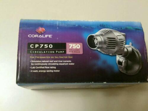 Coralife Cp 750 Circulation Pump for Fresh or Salt Water Bra