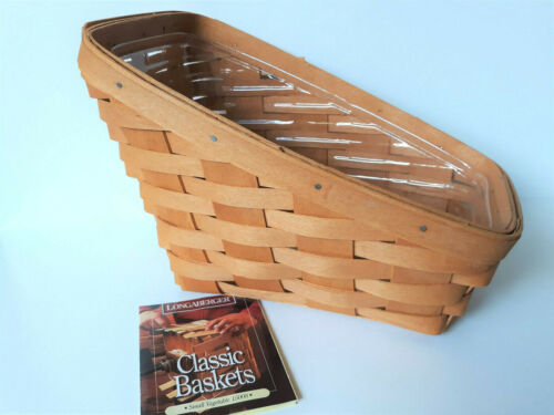 1997 Longaberger Small Vegetable Basket 15008 with Plastic Protector