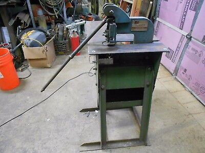 Roper Whitney Model 118 4 Ton Punch Press With Standtable