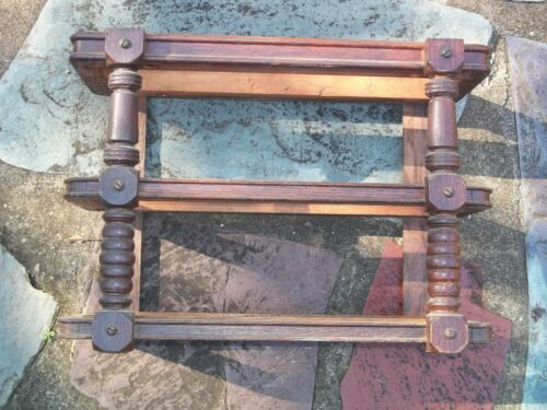 Early Singer Treadle Sewing Machine Drawer Frame Left Side Spindle