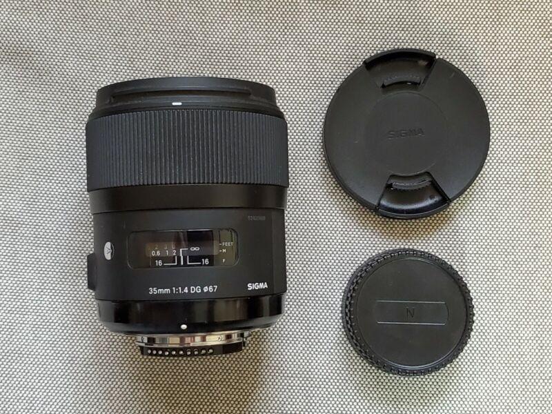 Sigma ART 35mm f1.4 -- Nikon