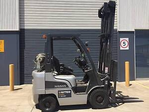 2008 Nissan 1.8T Used LPG Forklift in Melbourne  32-FI2390 Laverton North Wyndham Area Preview