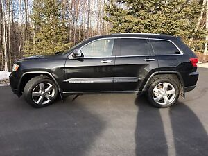 2012 Jeep Grand Cherokee Overland, loaded