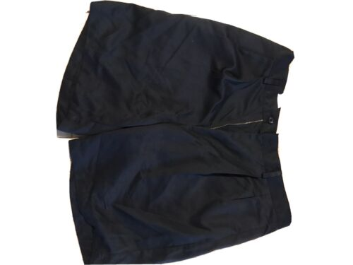 "NWOT Dockers Men's 34"" pleated Front  golf Shorts Navy"