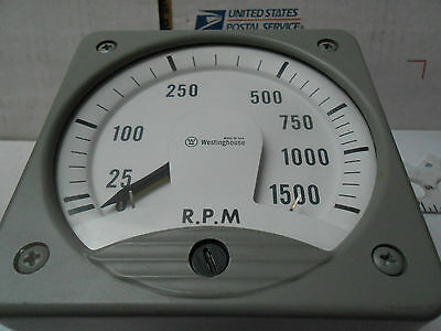 Kx-241 Westinghouse Meter 1500rpm 200 Uadc  New Old Stock