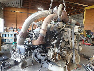 Detroit Diesel 6v53t Turbo Engine Runs Exc Video 6v53 Truck Gm Gmc V6 53