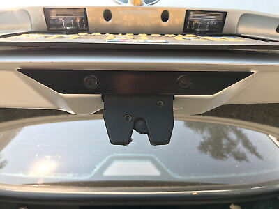 - BMW E36 Trunk Latch Reinforcement Coupe Sedan Convertible M3 325 328 318 - BLACK
