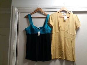2x Portmans Tops Size Large new with tags Pickup or Can Post