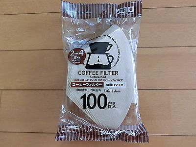 DAISO JAPAN Coffee Filter 100 piece made in Japan Free Ship