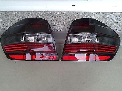 Schwarze Rückleuchten Lasierung Lasur Lasieren Ihrer Mercedes ML W164 Leuchten